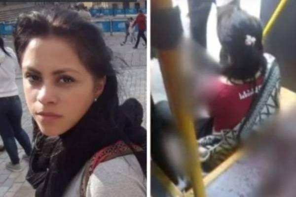 Mujer agredida en Transmi