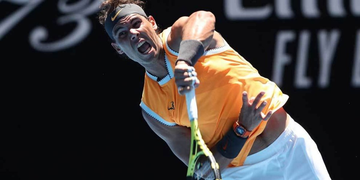 Rafael Nadal y Roger Federer avanzan sin problemas en el primer día del Abierto de Australia