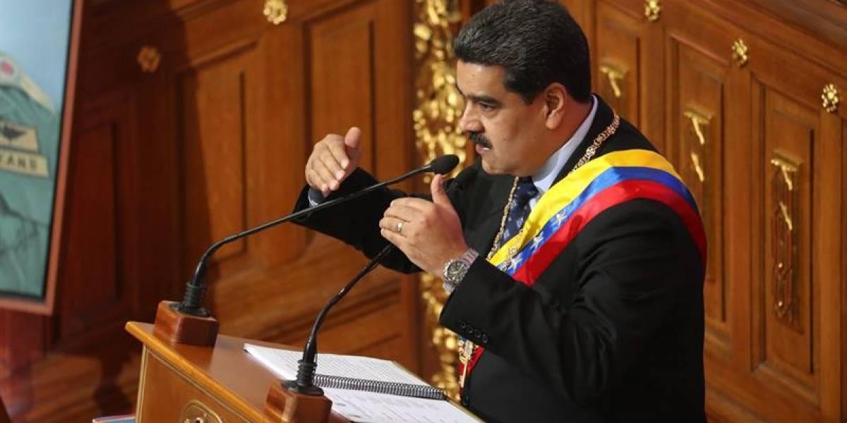 Nicolás Maduro eructa durante comparecencia en la Asamblea Nacional