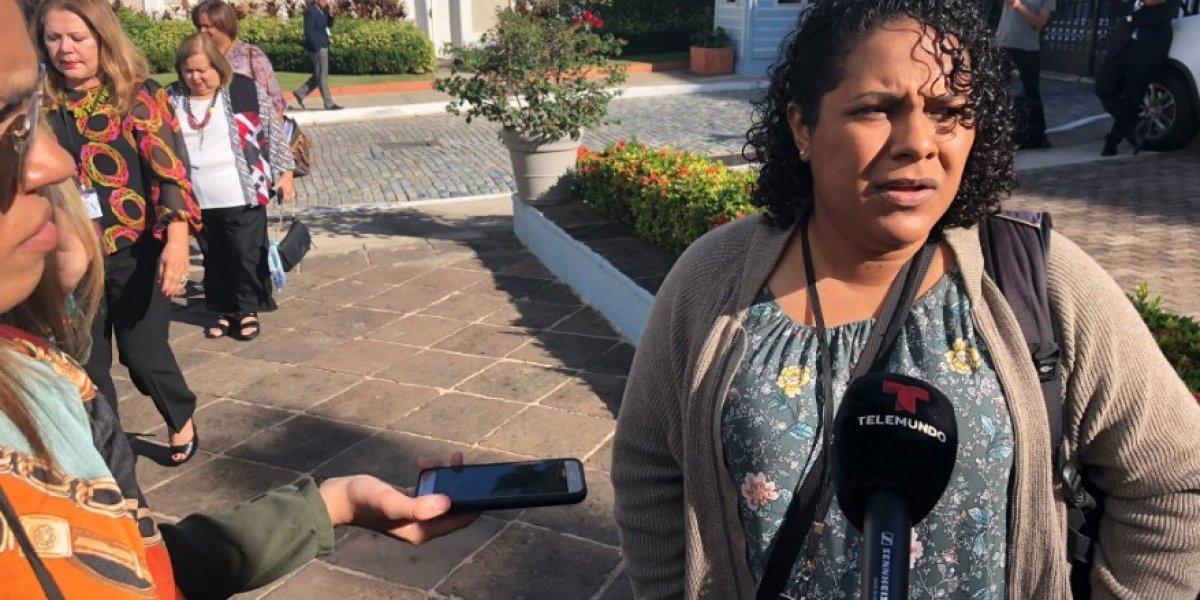 Fortaleza atiende a la Colectiva Feminista