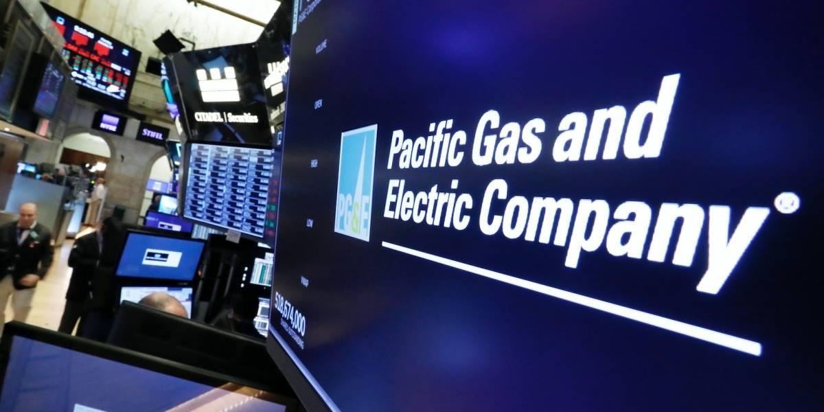 PG&E se declarará en bancarrota por incendios en California