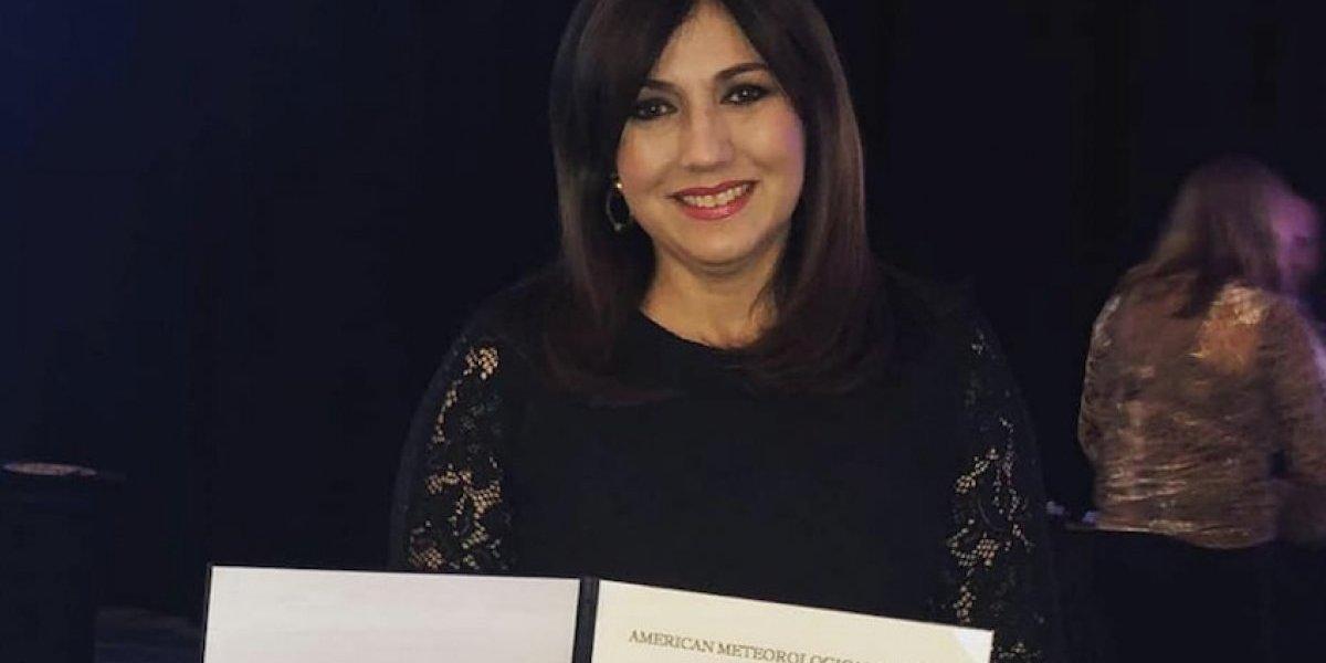 Ada Monzón recibe la distinción más importante de su carrera