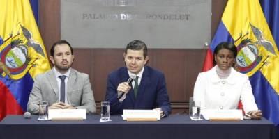 Juan Sebastián Roldán, Iván Granda y Diana Salazar