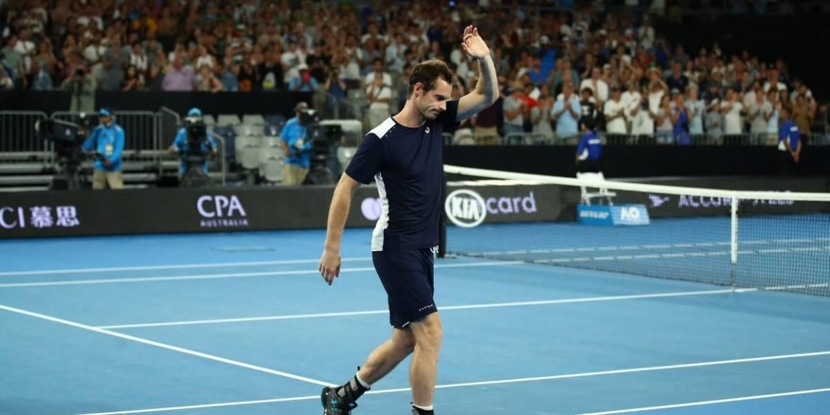 VIDEO. Bajo una lluvia de aplausos, Murray se despide de su último Abierto de Australia
