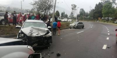 11 heridos tras accidente en la Simón Bolívar