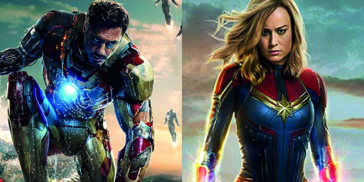 Avengers EndGame ¿Iron Man se enfrentará a Capitana Marvel?