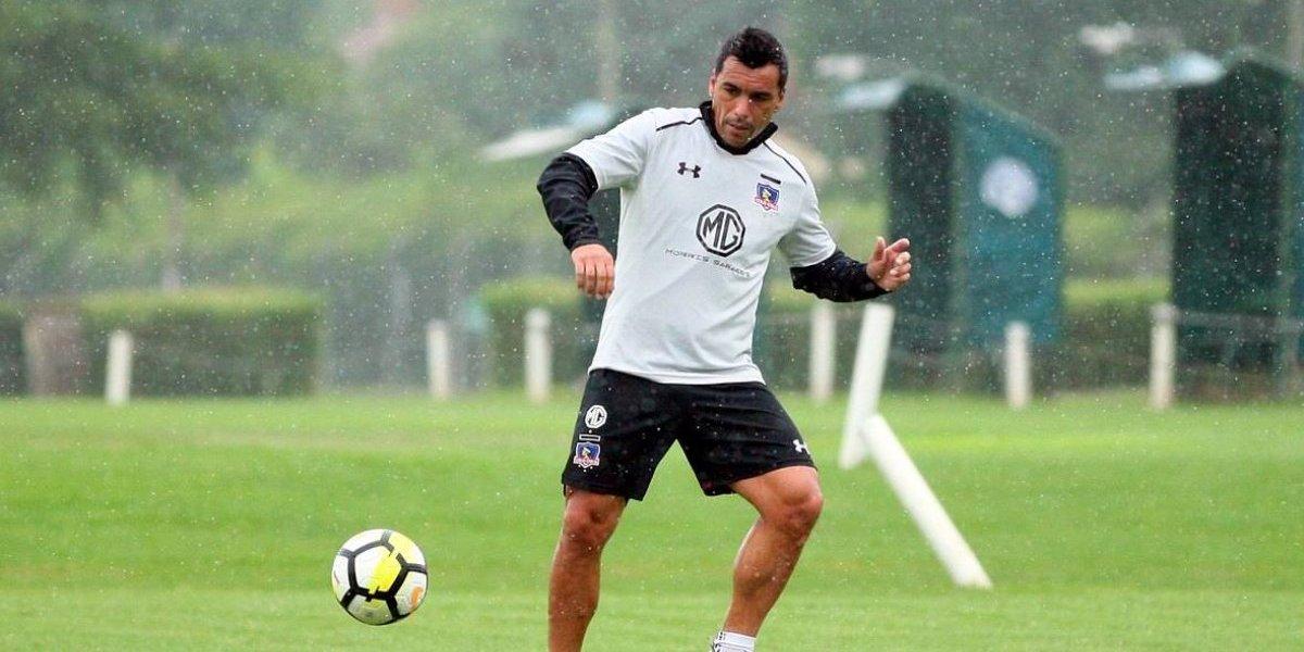 """Esteban Paredes: """"Queremos que Gaete se quede en Colo Colo, lo vamos a ayudar en lo que necesite"""""""