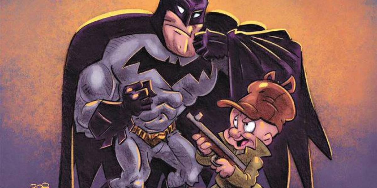 Em HQ, Liga da Justiça encontra os personagens de Looney Tunes