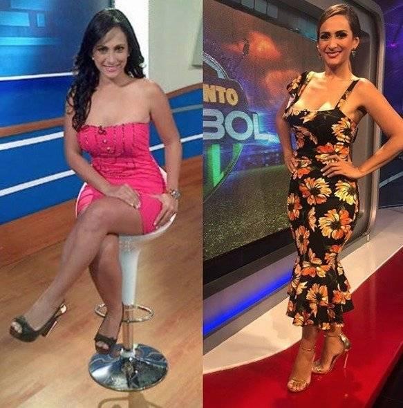 #10YearChallenge María José Flores, presentadora de deportes ecuatoriana Instagram