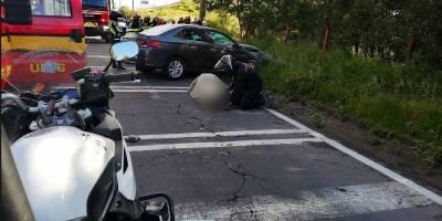Fatal accidente de tránsito en la avenida Simón Bolívar, sector de El Troje
