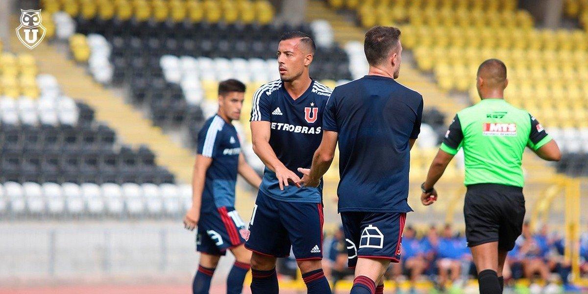 La U 2019 partió pisando fuerte y goleó a Coquimbo Unido en su primer amistoso