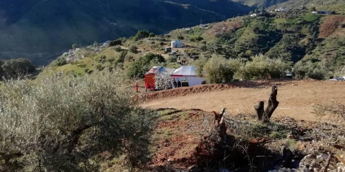 """El """"mastodonte"""" de 75 toneladas y 70 metros de largo que alberga la esperanza: la potente perforadora que buscará salvar a Julen del pozo"""