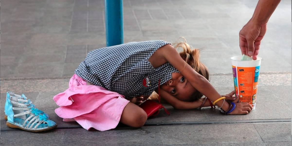 Hallan a 30 niños en condición de mendicidad en Colombia