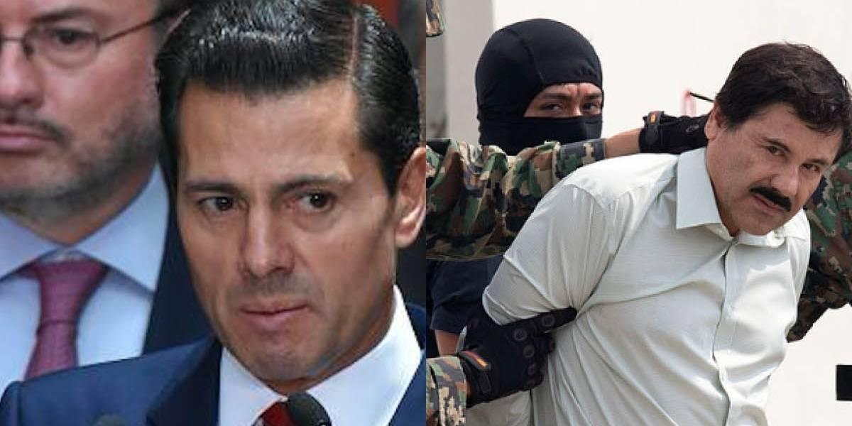 Un testigo dijo que 'El Chapo' sobornó al expresidente de México, Enrique Peña Nieto