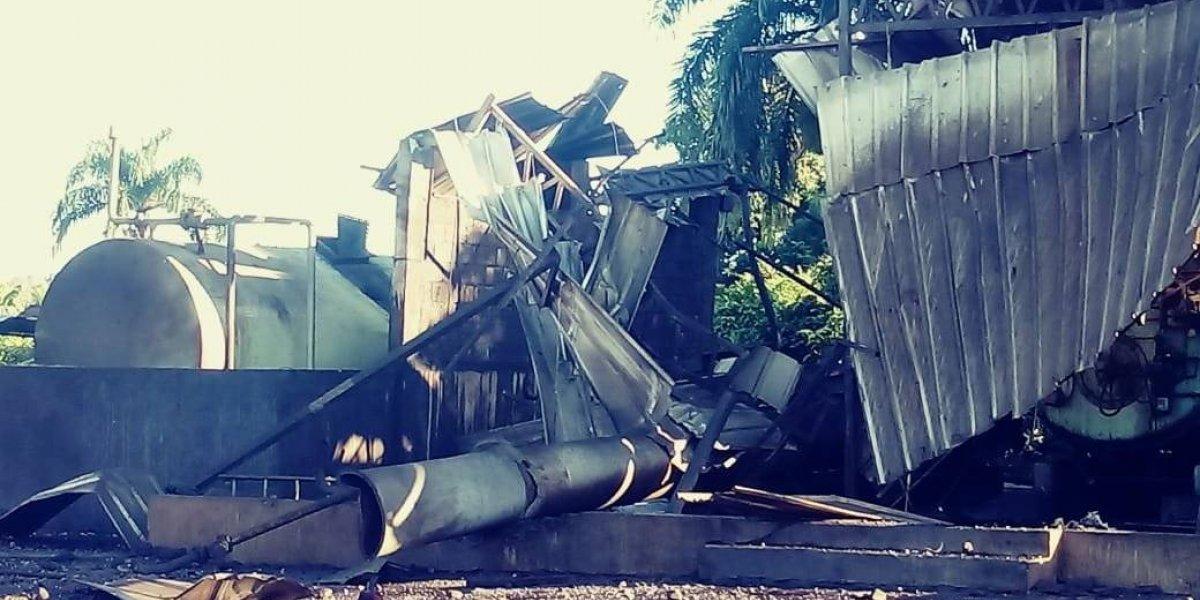 Al menos dos muertos y 3 heridos en una explosión en fábrica en Santo Domingo