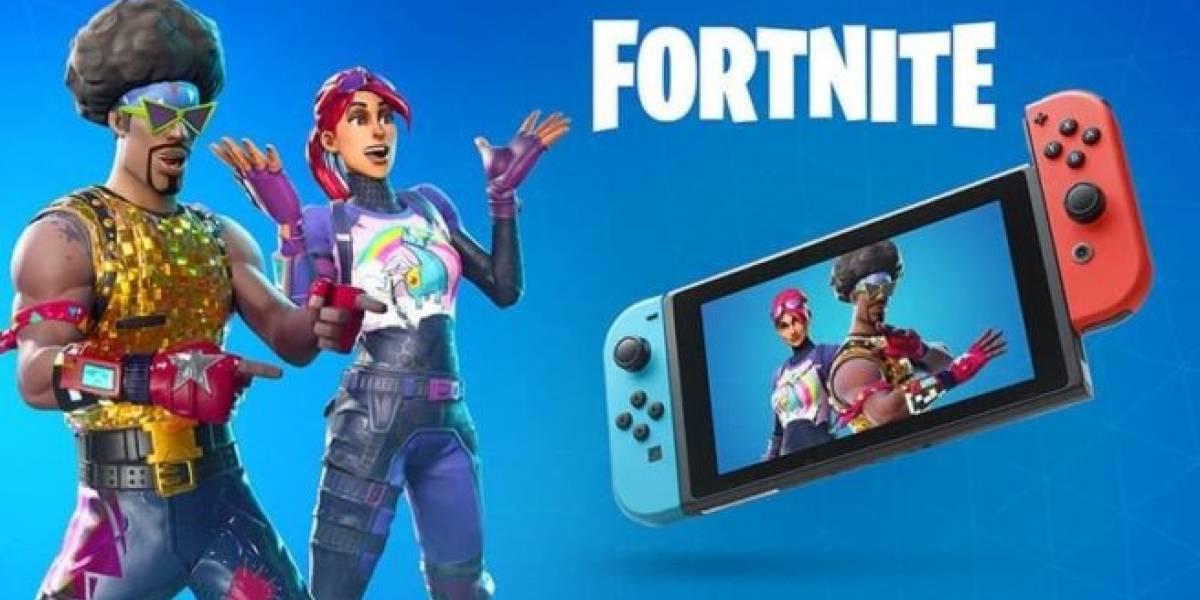 Fortnite foi o título mais jogado no Nintendo Switch em 2018