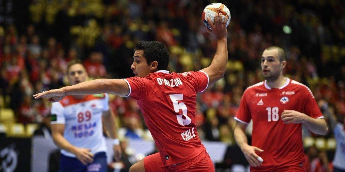 Chile cayó inapelablemente ante Noruega y depende de un milagro para avanzar en el Mundial de Balonmano
