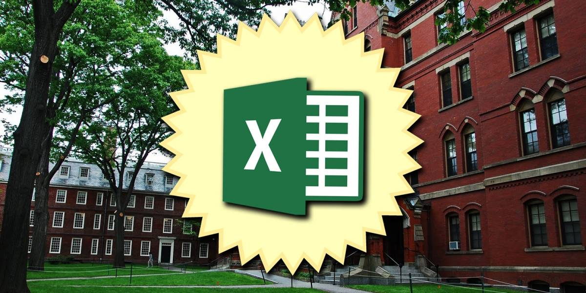 Estas son las 10 funciones más importantes de Excel que recomienda la Universidad de Harvard