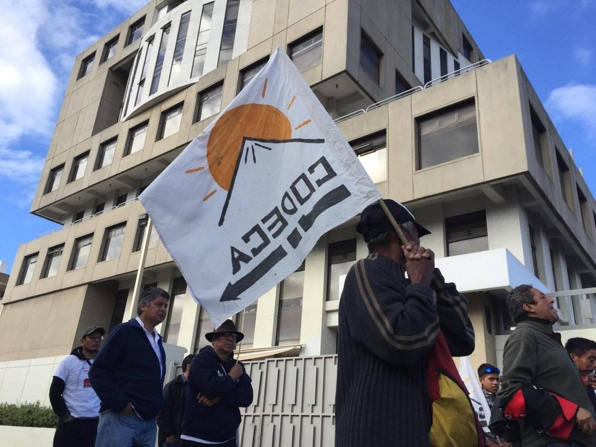 Codeca convocó a una manifestación. Entre sus peticiones está exigir la renuncia del presidente, Jimmy Morales. Foto: Álvaro Alay