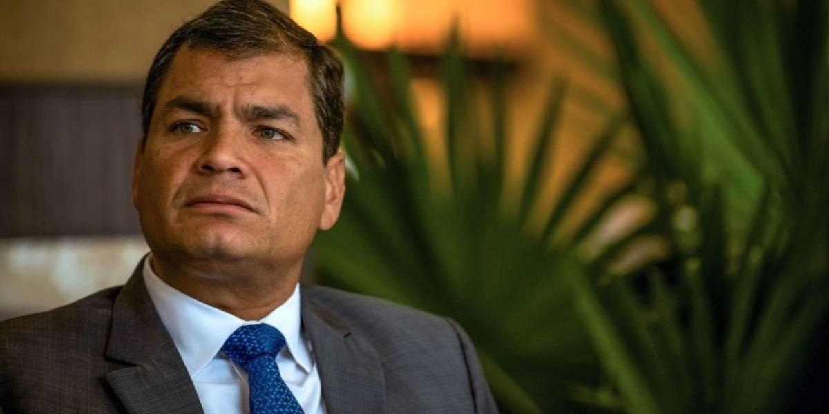 Rafael Correa se pronuncia ante el comunicado de Lenín Moreno sobre el asesinato de Diana