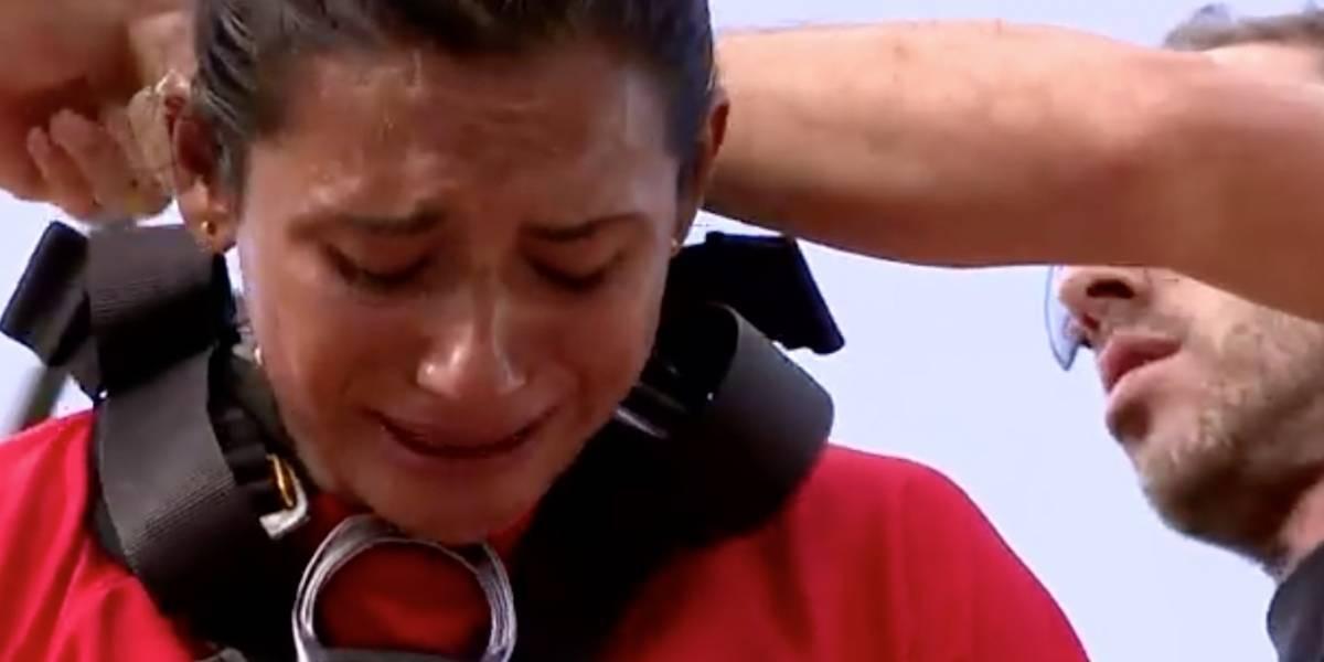 ¡Tragedia en el Exatlón! Zudikey fue llevada de emergencia al hospital