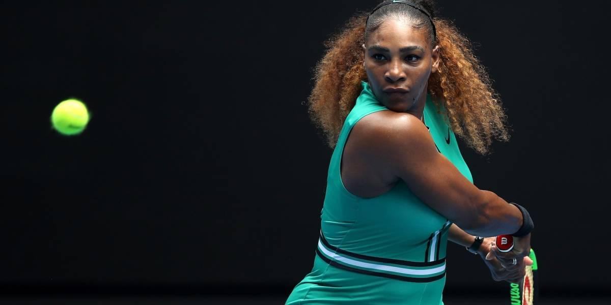 Serena Williams en su versión más brava
