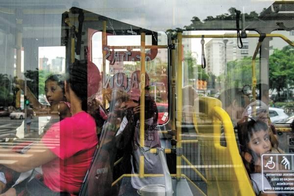 ar-condicionado em ônibus