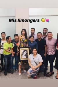 Así fue el recibimiento a Virginia Limongi, tras su llegada a Ecuador