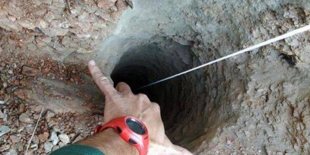 Hallan pelo del niño atrapado en un pozo en España