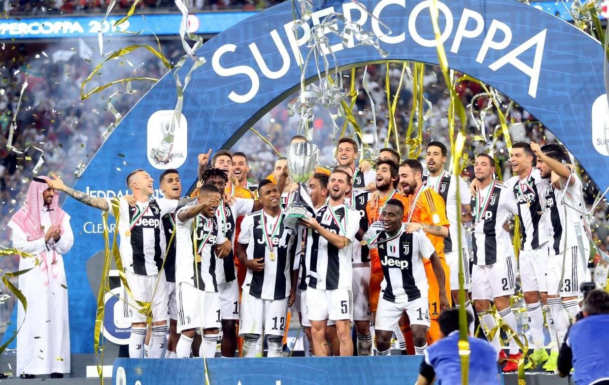 Supercopa de Italia: Cristiano Ronaldo le da el primer título a la Juventus
