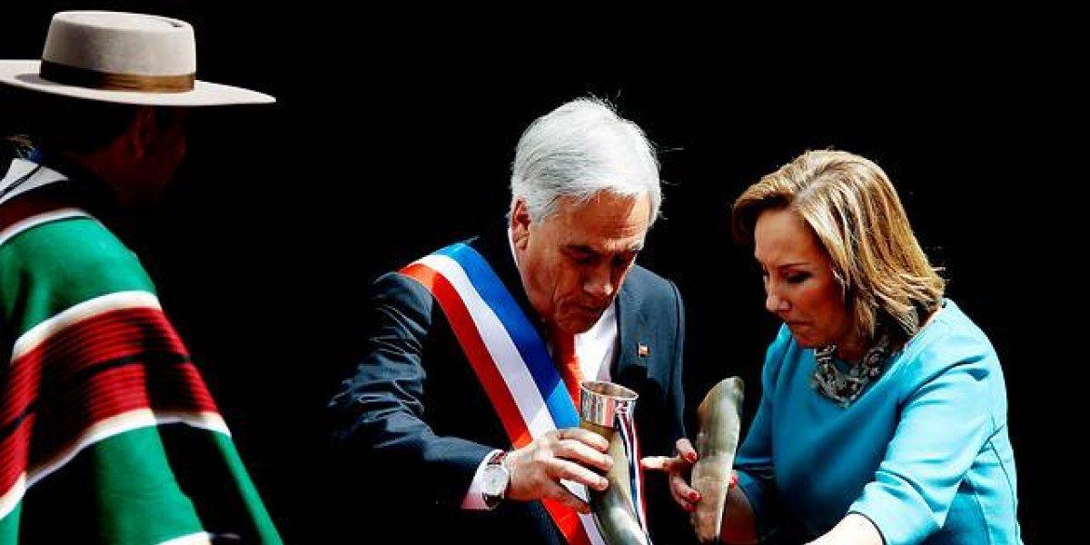 """#10yearschallenge: Presidente Sebastián Piñera no se resistió a la tentación del reto y a autoproclamarse """"como el vino"""""""