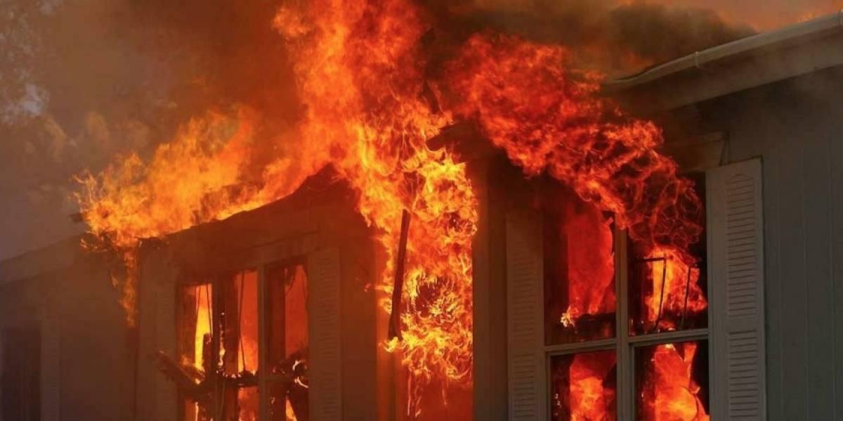 Logró escapar del incendio de su casa con serias quemaduras pero murió tras ser atropellado por una camioneta mientras buscaba ayuda