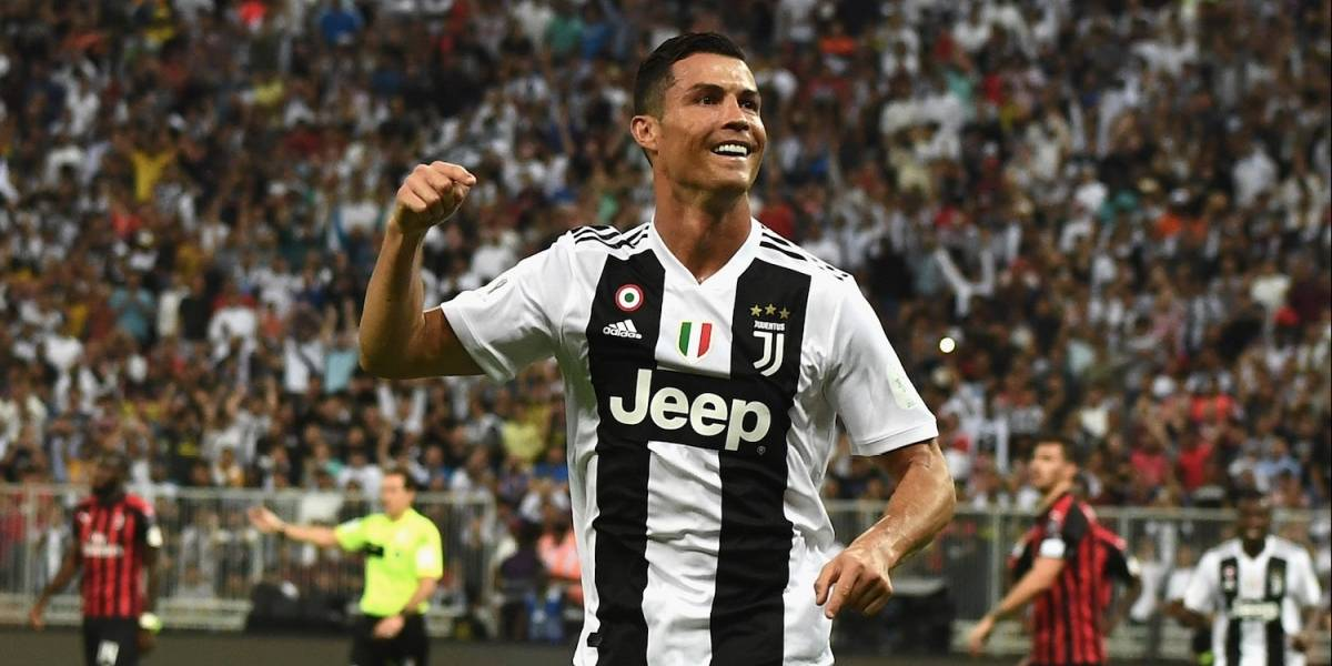 ¡Una máquina! Cristiano Ronaldo anotó un golazo y ganó su primer título con Juventus