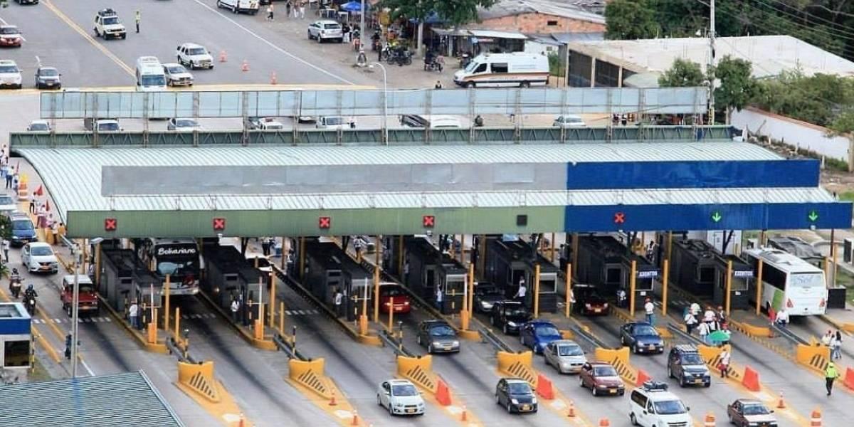 Peajes en Cundinamarca estarán cerrados durante simulacro de cuarentena