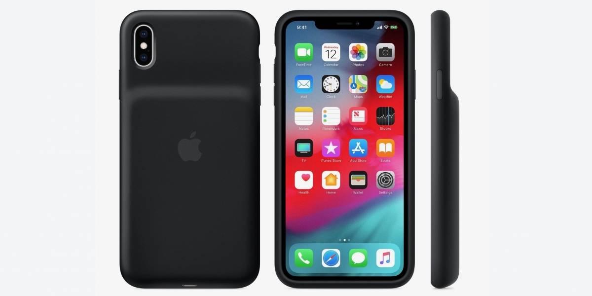 Apple pone a la venta carcasas oficiales con batería y carga inalámbrica para todos sus nuevos iPhone