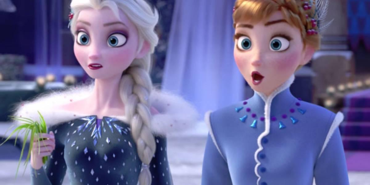 Imagen de Elsa casándose con otra chica en 'Frozen 2' ha revolucionado las redes sociales