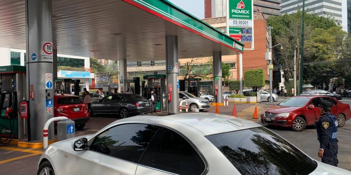 68% de automovilistas cumple con calendario sugerido para cargar gasolina