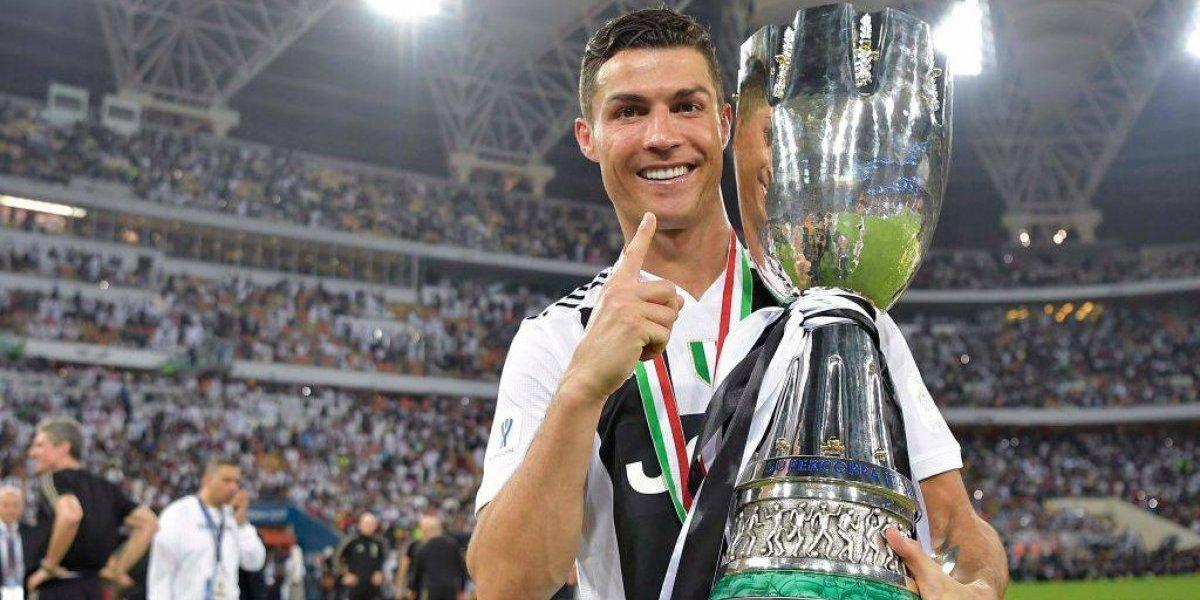 Un imparable Cristiano Ronaldo le dio a la Juventus la Supercopa de Italia tras derrotar al Milan