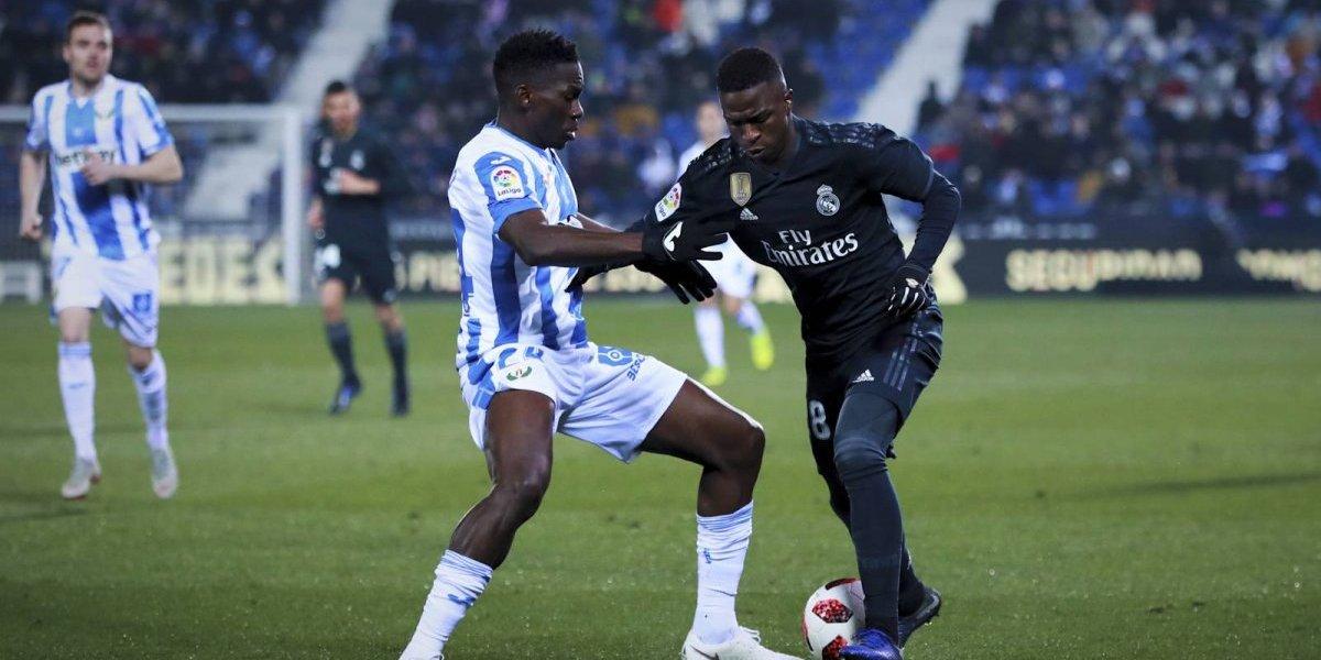 Un deslucido Real Madrid clasifica a cuartos de la Copa del Rey pese a perder frente al Leganés