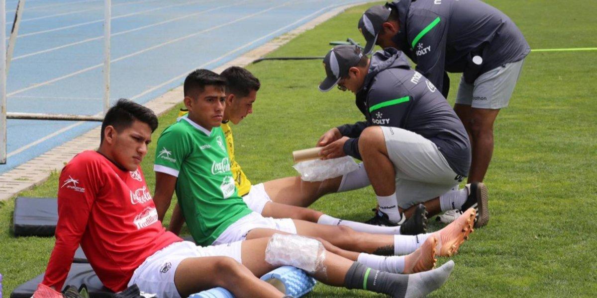 """Chile se topará con una """"improvisada"""" Bolivia que otra vez tuvo problemas antes de un Sudamericano Sub 20"""