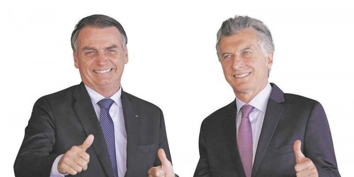 """Bolsonaro y Macri """"destrozan"""" a Maduro en reunión bilateral"""