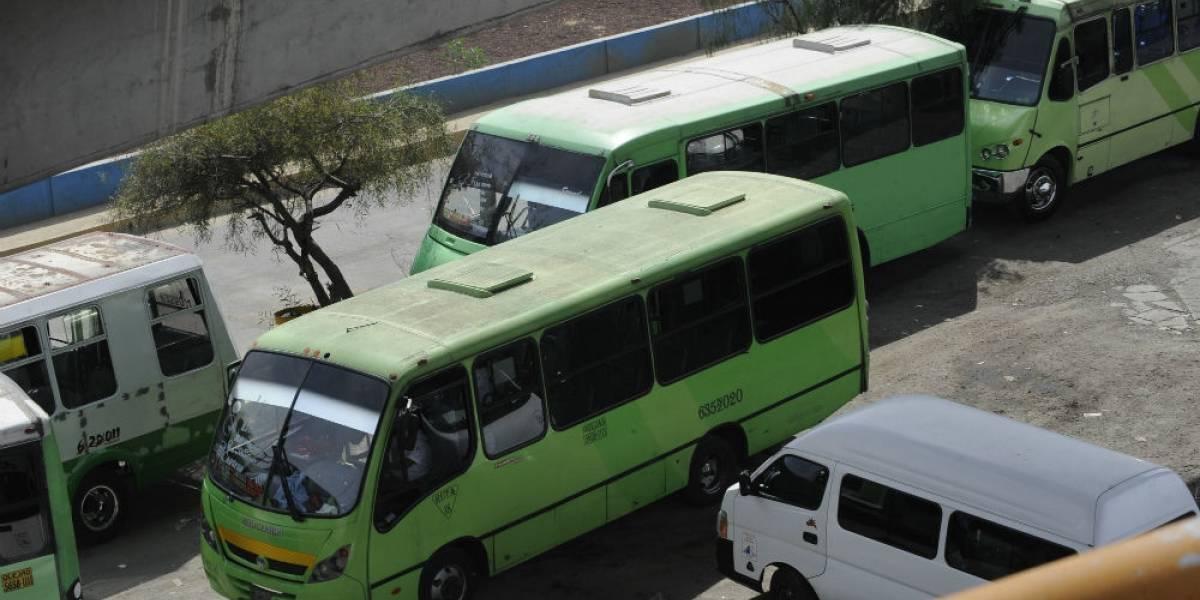 Se disparan robos a transporte público en la CDMX