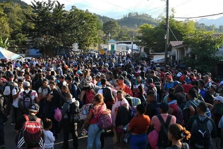 Más de 1,200 migrantes hondureños han ingresado a Guatemala