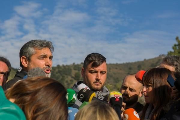 """Juan José Cortes pide a los padres de Julen que """"no pierdan la esperanza"""""""