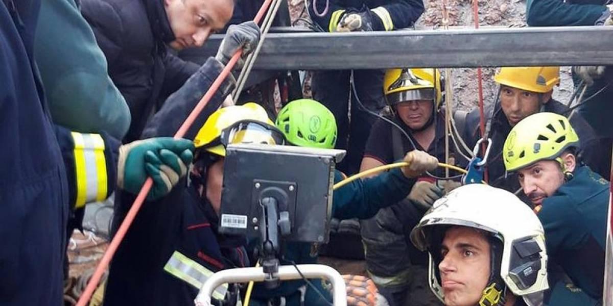 España: Encuentran restos biológicos del niño atrapado en un pozo