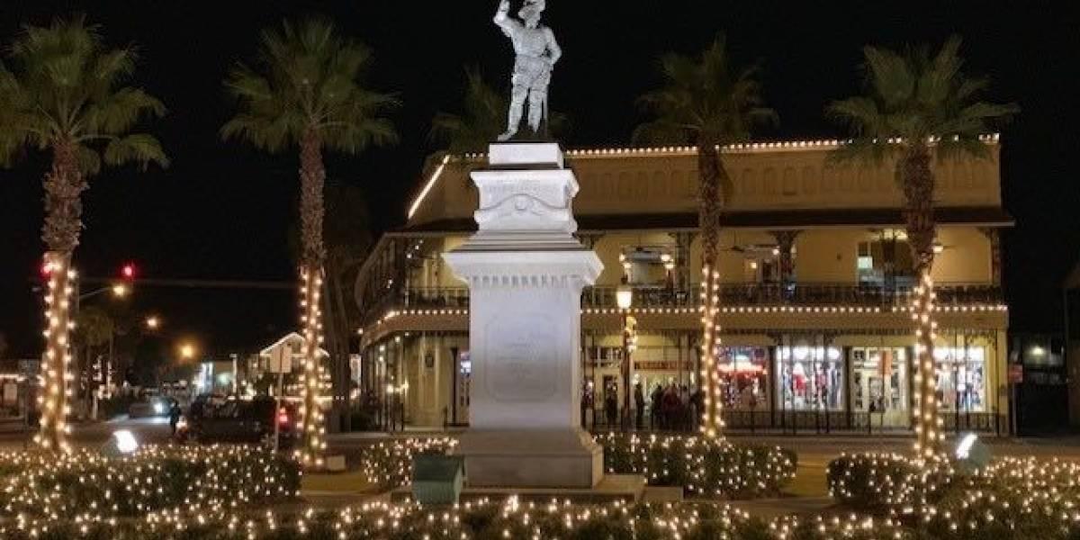 Extienden las Navidades en San Agustín Florida