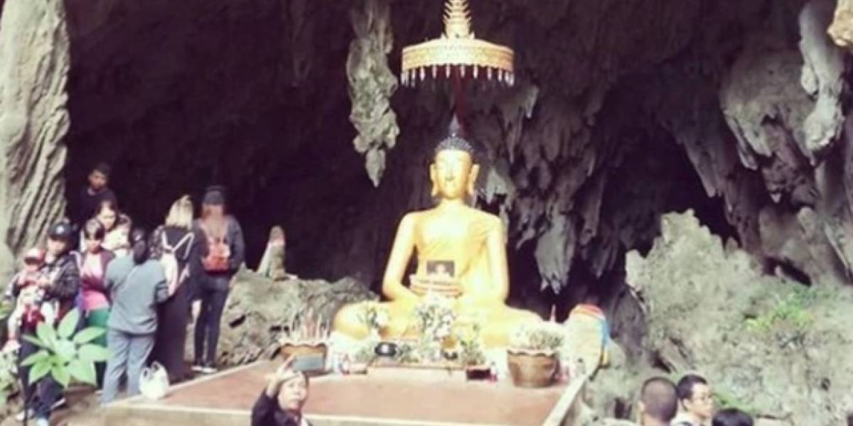 La cueva de la que rescataron a los niños en Tailandia ahora es una atracción turística