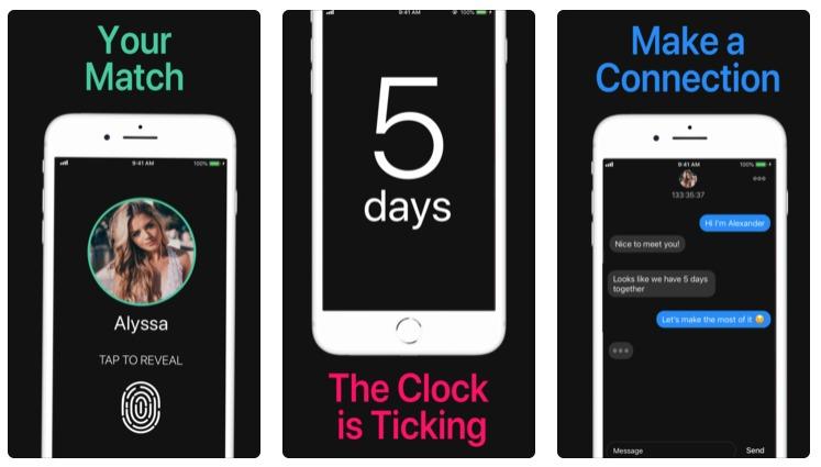 Black Mirror app citas