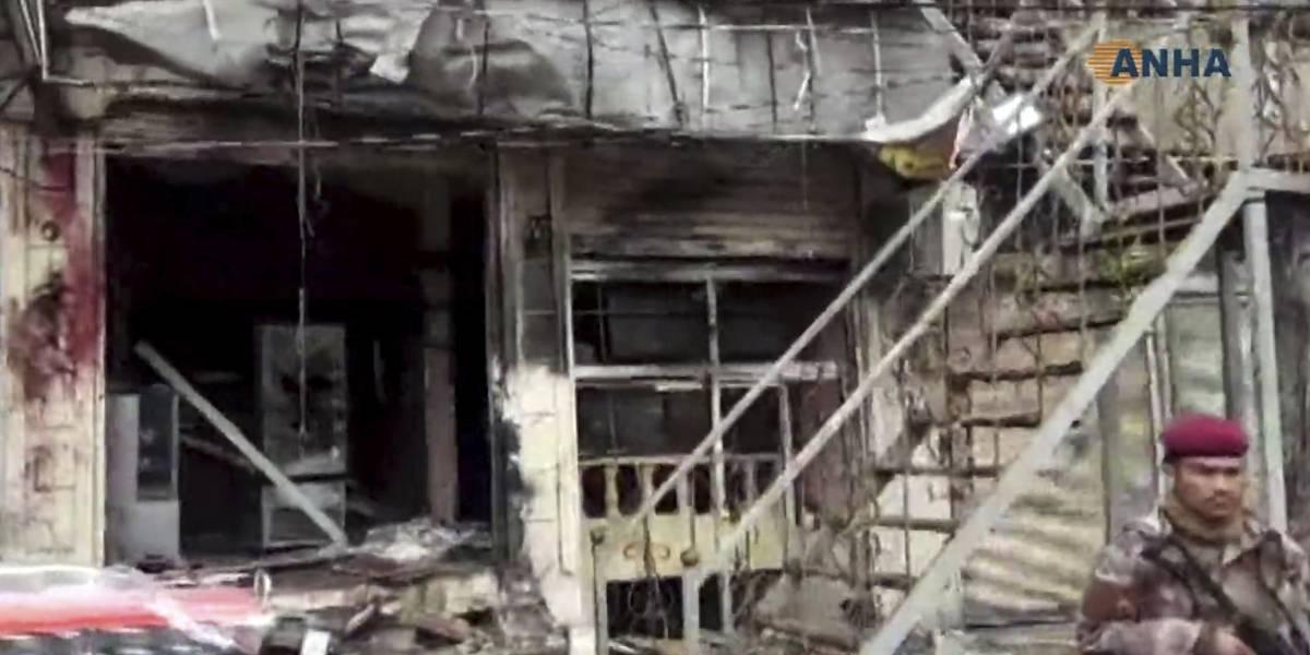 VIDEO: Así fue la explosión de ISIS que mató a 16 personas en Siria