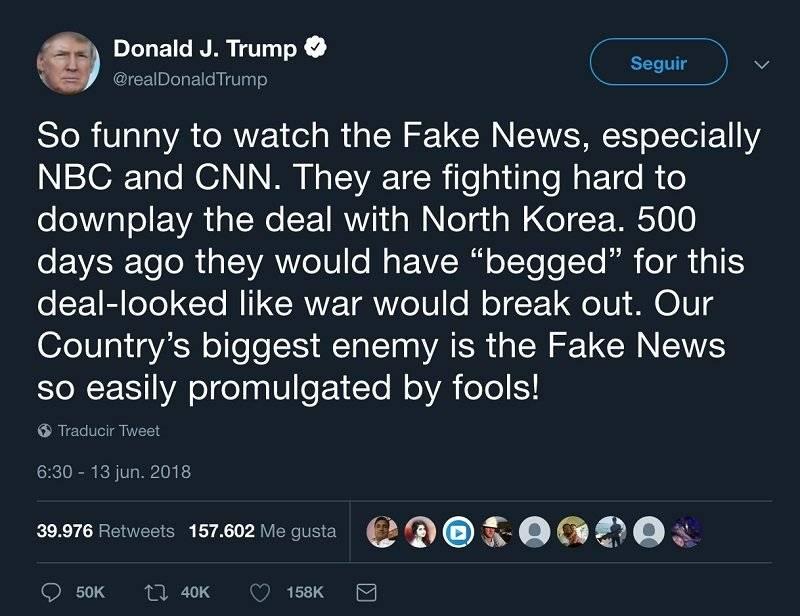 Prensa: el mayor enemigo de Estados Unidos